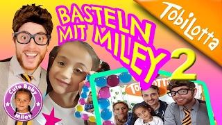 BASTELN mit MILEY 2 + Miley bastelt Bilderrahmen kinderkanal- Tobilotta 48