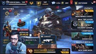 Modern Combat 5 - New Armor (SAMHAIN SPREE) Gameplay - LIVE!#149