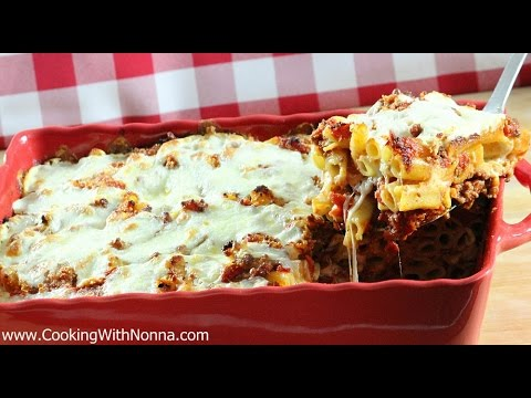 Nonna's Baked Ziti - Rossella's Cooking With Nonna