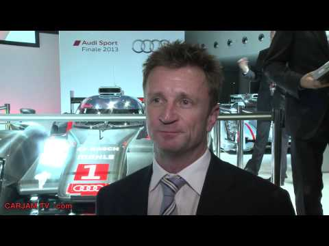 Allan McNish Retirement Interview Le Mans Winner Commercial 2014 Carjam TV HD Best Car Shows