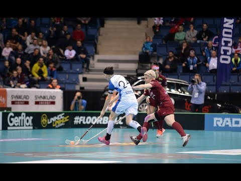Women's WFC 2017 - 5th place - SVK v LAT