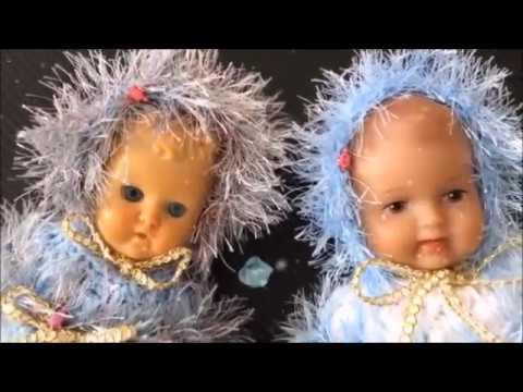 Häkeln.Ein Muster für zwei Puppenkleider.Selber machen. - YouTube