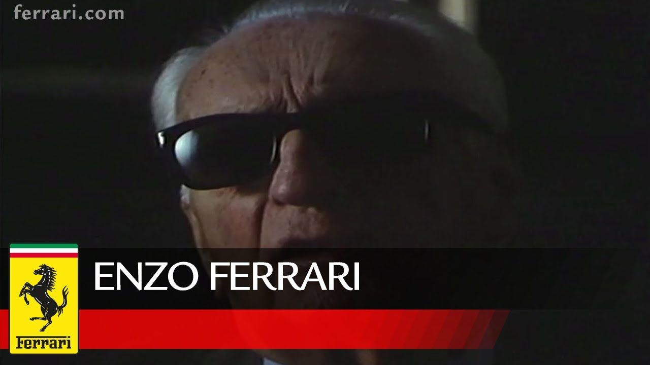 Enzo Ferrari The Idea Youtube