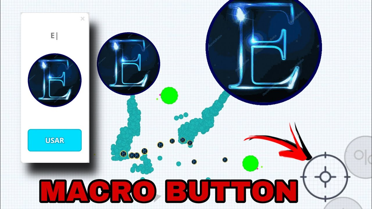 agar.io mobile - MACRO BUTTON!! BEST MOMENTS + DESTROYING SERVERS!!