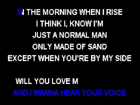 Coffey Anderson   Better Today Wedding Song) Karaoke Version Lyrics