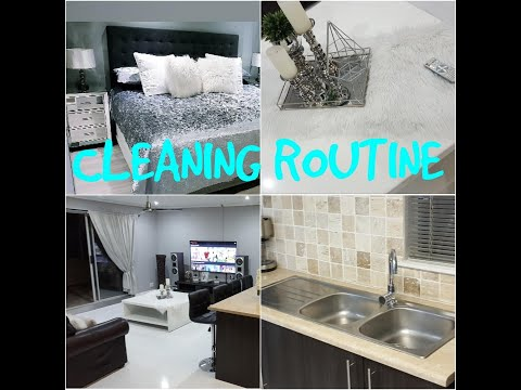 CLEAN WITH ME /ALL DAY CLEAN WITH ME Walk in Closet (Cleaning motivation) South African Youtuber