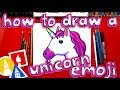 How To Draw The Unicorn Emoji 🦄