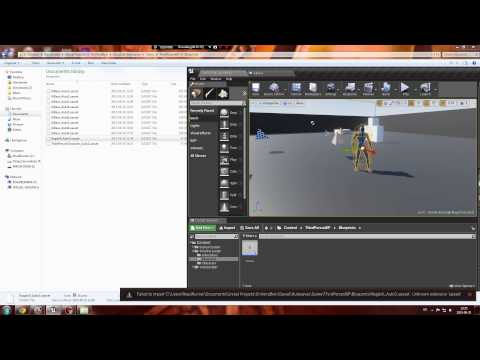 How To Load UASSET file in Unreal Engine 4 - YouTube