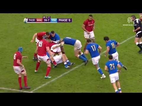 Rugby tutte le mete dell'Italia nel 6 nazioni 2018 HD