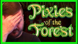 LIVE PLAY on Secrets of the Forest Slot Machine with Bonus and Big Win!!! - Part 1