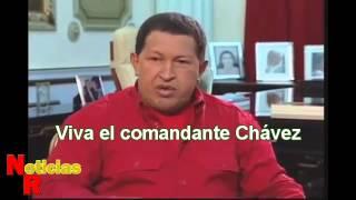 El comandante Chávez habla de México