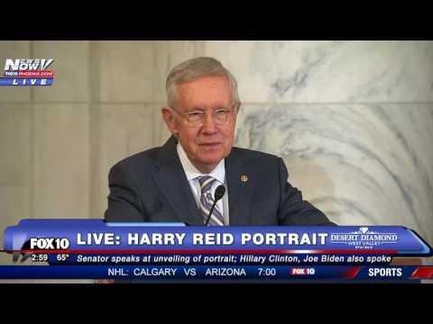 FINAL WORDS: Harry Reid Speaks About Fellow Politicians at Portrait Unveiling - FNN