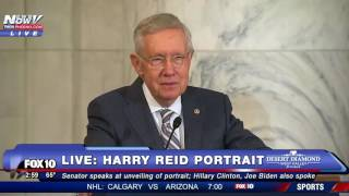 FINAL WORDS: Harry Reid Speaks About Fellow Politicians at Portrait Unveiling - FNN
