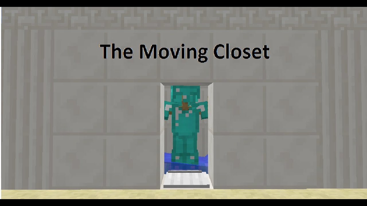 The Moving Closet Minecraft 1.8 Using Armor Stand