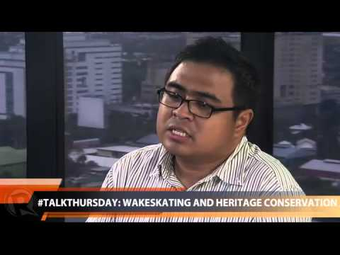 #TalkThursday: Wakeskating and heritage conservation