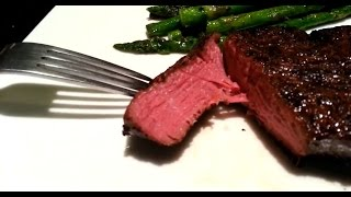 Filet Mignon Sous Vide with Asparagus