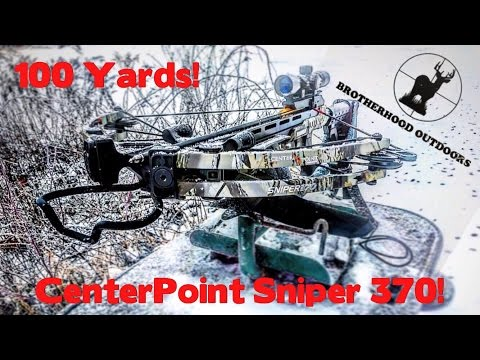 Best Crossbow for the money! Center Point Sniper 370 Re ...