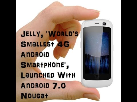 """JELLY"" The world's smallest 4G LTE Android smartphone in tamil 2017"