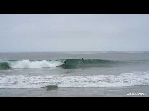 Fun South Swell Hits 40th Newport Beach May14th RAW Part Two