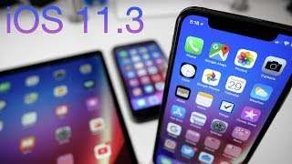 iOS 11.3 is Out! - What's New?