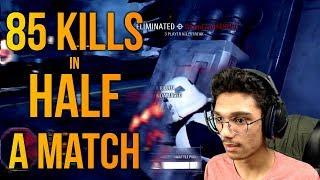 85 Elims in HALF a match! - Battlefront 2