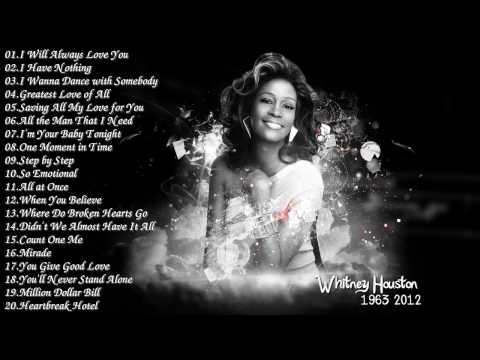 Best Songs Of Whitney Houston  Whitney Houston Greatest Hits Full Album 2017