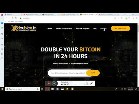 Bitcoin Doubler Review  DoubleX SCAM