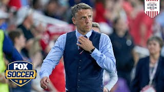 Phil Neville on MLS & difference in coaching Women and Men | ALEXI LALAS' STATE OF THE UNION PODCAST