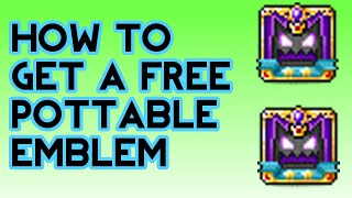 Maplestory - How To Get A Free Pottable Emblem