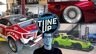 TuneUp - April 2019 (Week 4): Ryan Tuerck's FR-S Rebuild, Voltex S2000, S13 body work, and more!