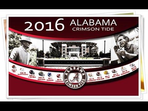 Alabama Football Schedule Alabama Crimson Tide Prevail Lsu Tigers