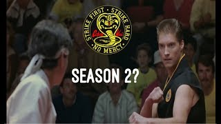 Mike Barnes returning to Cobra Kai season 2?