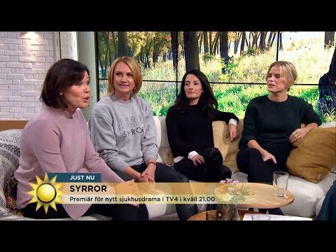"""Äntligen premiär för sjukhusdramat """"Syrror"""" - Nyhetsmorgon (TV4)"""