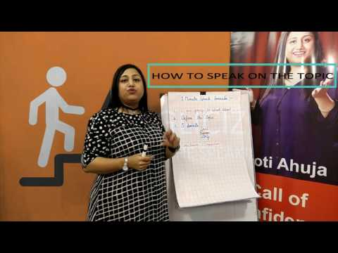 How to speak on the topic- Anglicize Me with Jyothi Ahuja