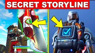Fortnite A.I.M Hunting Party Skin SECRET STORYLINE! - En tête de la saison 7 (Fortnite Battle Royale)