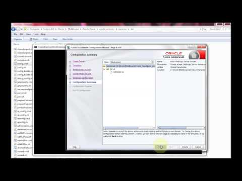 Creation of weblogic clusters - WEBLOGIC_1