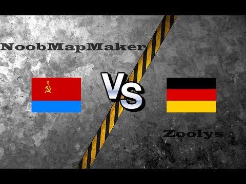 OpenRA Shoutcast #6: NoobMapMaker versus Zoolys [Red Alert]