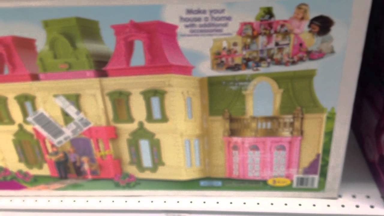 Loving Family Dream Dollhouse By Fisher Price With Family And