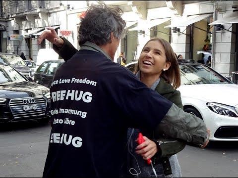 Free Hug Network Aktion 28.10.2017 Zürich