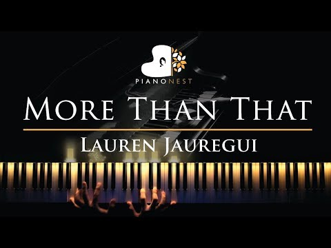 lauren-jauregui---more-than-that---piano-karaoke-/-sing-along-cover-with-lyrics