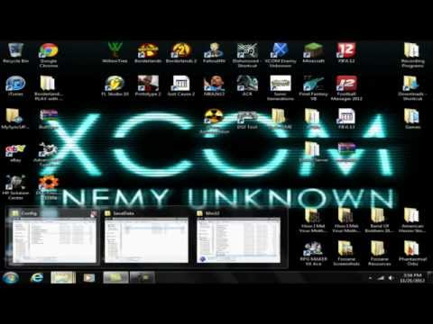 XCOM: Enemy Unknown - Config Tutorial and The Hero Characters (PC)