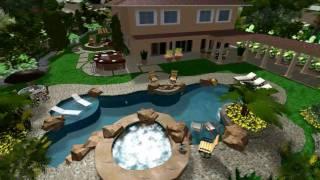 Virtual Presentation Studio  Huntington Beach And San Clemente In 3d Landscape Design
