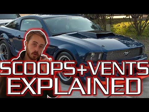 How do Hood Scoops and Bonnet Vents Work?