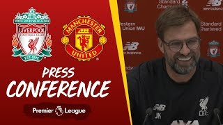 Jürgen Klopp's pre-match press conference | Man Utd