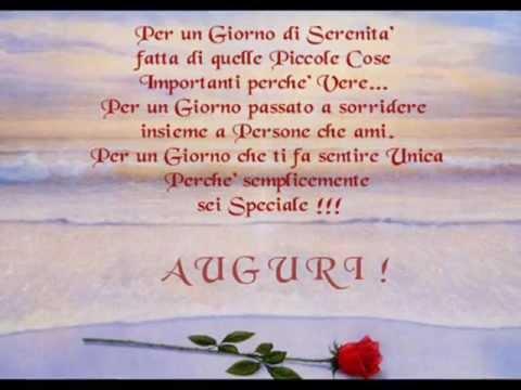Buon compleanno anna e youtube for Frasi di compleanno per una figlia speciale