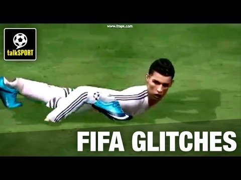 More Funny Football Video Game Glitches PES FIFA Fails YouTube - 26 terrifying video game glitches hilarious
