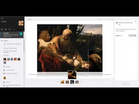 The Bible: An Introduction Inkling Interactive Textbook Demonstration