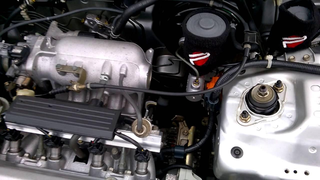 civic ek3 d15z6 running without p s manual steering rack installed rh youtube com Honda D15 Engine Honda Vtec Engine