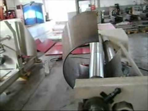 Bendmak CYL-ST Cone Bending - Ron Mack Machinery TV