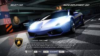 NFS: Hot Pursuit(2010): SCPD Event #21: Interceptor: Carson Ridge Reservoir: Locking On